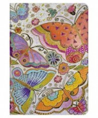 Paperblanks 2018 Flutterbyes Diary, Midi, Lined/ 42112