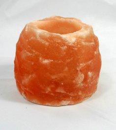 Свещник от хималайска сол 1100 гр