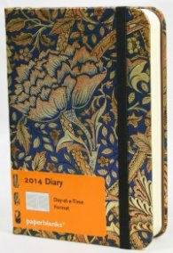 Бележник Paperblanks Diary 2014 Morris Windrush Mini, Lined/ 3531