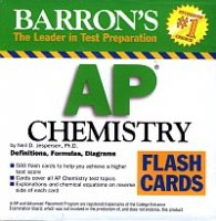 Barron's AP Chemistry Flash Cards