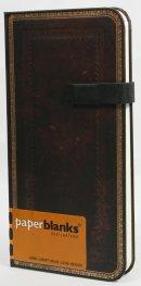 Бележник Paperblanks Old Leather Slim, Lined/ 8416