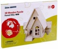 3D Wooden Puzzle - Forest Villa F301