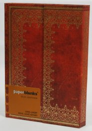Бележник Paperblanks Old Leather Mini Wrap, Lined/ 4555