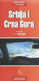 Srbija i Crna Gora / Auto karta