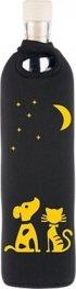 Бутилка FLASKA NEO DESIGN 0.500L: Черно - Луна