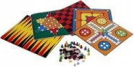 5 игри за всички: Не се сърди, човече, Китайски шах, Табла, Дама, Шашки