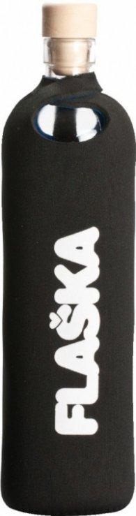 Бутилка FLASKA Neo 0.500L:Черно - бяло