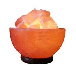 Лампа от хималайска сол, Купа с кристали 3 кг