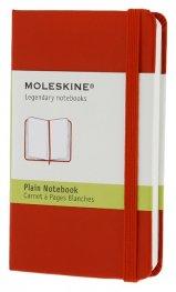 Бележник Moleskine Notebook Plain Red  Extra Small [Hardcover] [7139]