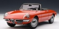 ALFA ROMEO 1600 DUETTO SPIDER - RED 70137