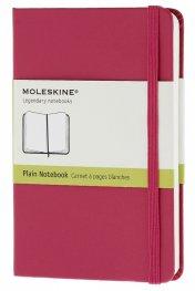 Бележник Moleskine Classic Hard Cover Pocket Plain Notebook Magenta [6415]