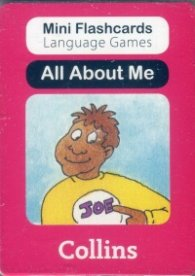 Mini Flash Cards Language Games: All About Me