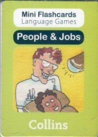 Mini Flash Cards Language Games: People & Jobs