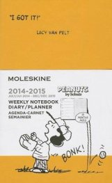 Бележник Moleskine 2015 Peanuts Limited Edition Weekly Notebook 18 Month Pocket Orange Yellow Hard Cover [3272]