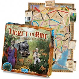 Ticket to Ride: The Heart of Africa /допълнение към играта/