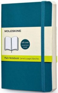 Бележник Moleskine Classic Colored Notebook Pocket Plain Underwater Blue Soft Cover [3593]