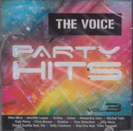 The Voice Party Hits CD
