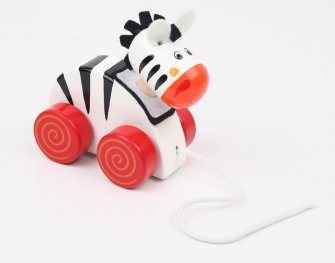Toys Pino играчка за дърпане - зебра 8385-4
