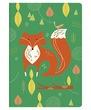 Бележник Paperblanks Mister Fox, Midi Lined/ 5541