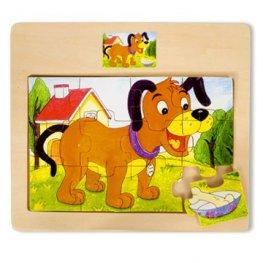 Toys Pino пъзел кученце 12 ел. 4102-2