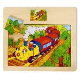 Toys Pino пъзел влакче 12 ел. 4102-3