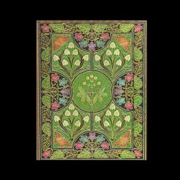 Бележник Paperblanks Poetry in Bloom – Flexi Dot-Grid Planners, Dot Grid/ 3620