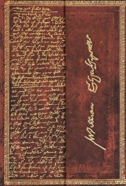 Бележник Paperblanks SHAKESPEARE, SIR THOMAS MORE Embellished Manuscripts Collection, Mini, Lined/9113